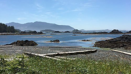 Exploring the islands of B.C.'s Nuchatlitz lagoon