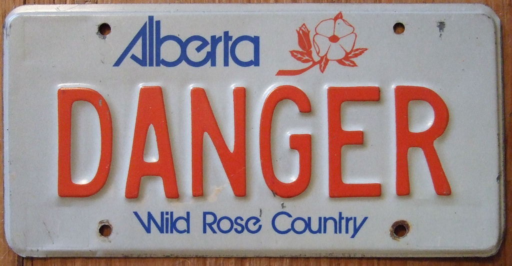 Alberta licence plate ban is political, not economic