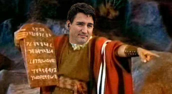 Conform or else: the Trudeau government's dictat on free speech