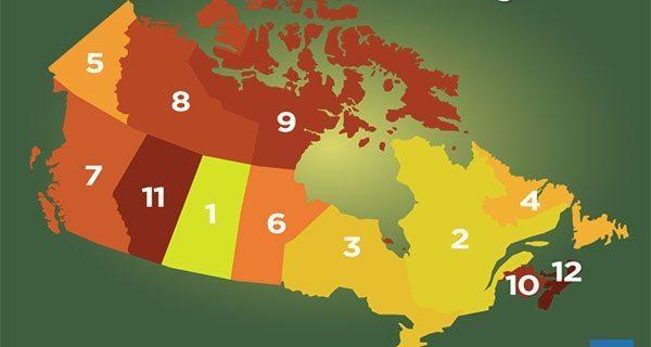 Saskatchewan top spot for mining investment in Canada, Alberta 11th