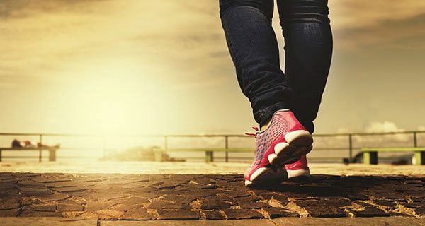 One step at a time: a simple solution to a better life