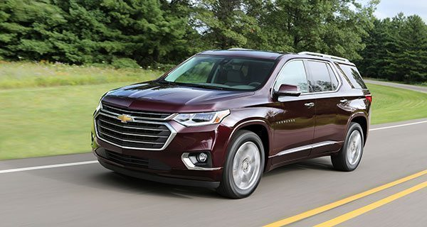 2018 Chevrolet Traverse comes with Teen Driver Technology