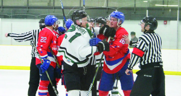 Outlaws take 2-0 lead in SWHL finals over the Red Lions