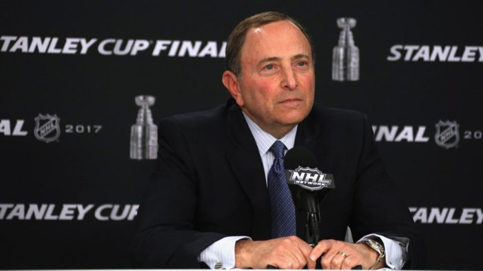 Bettman doesn't belong in the Hockey Hall of Fame
