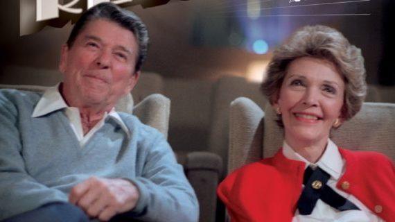 Looking through an unusual lens at Ronald Reagan