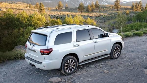 The 2018 Toyota Sequoia is upscale with a practical nature