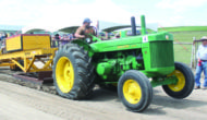 Antique tractors roar to life in Denzil
