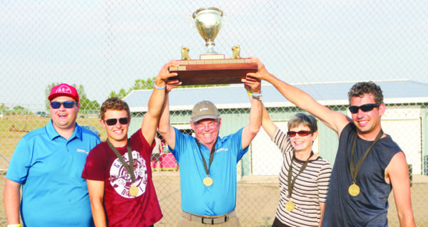 Emotional tournament win for longtime committee member