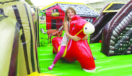 Horses, karaoke and inflatable fun