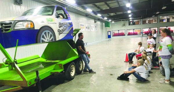 Eston safety event makes impression on students