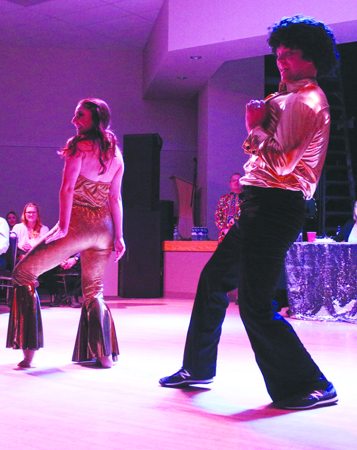 Dancers shake booties to support a cause