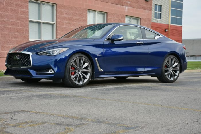 Infiniti Q60 Red Sport offers high-end motoring