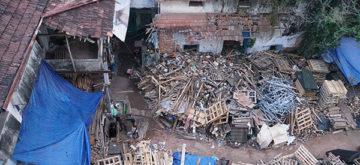 The squalid, stifling slums of Mumbai
