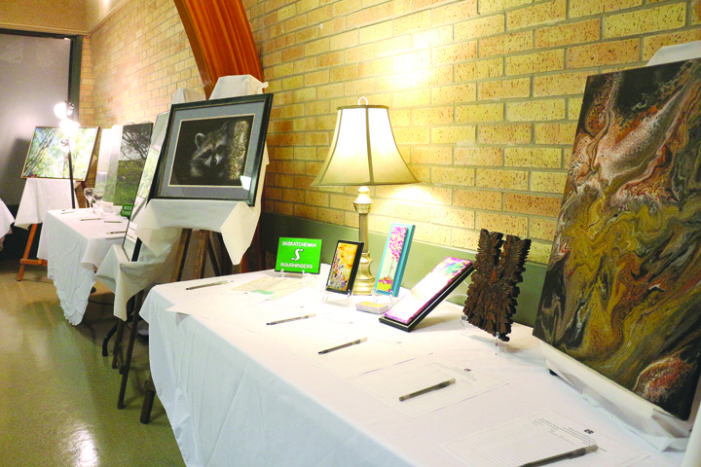 Art auction fundraiser goes well for agency