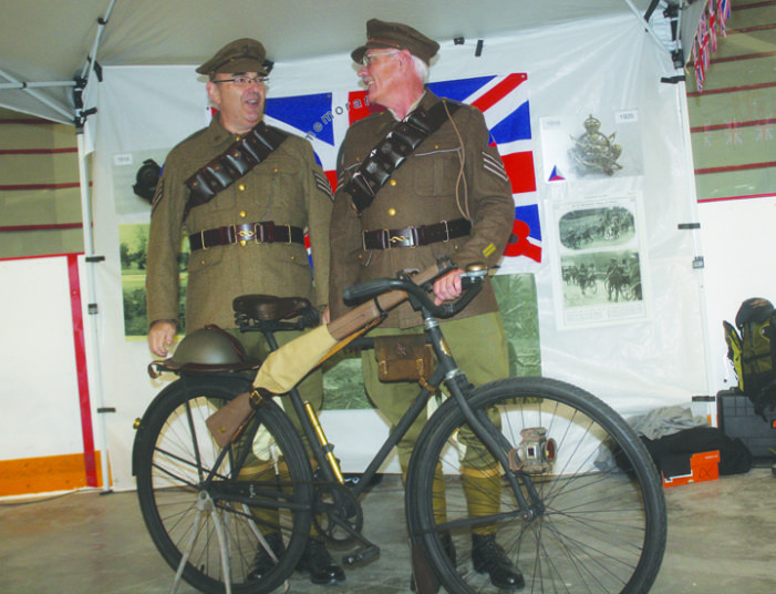 Cycling soldiers led Canadian advance