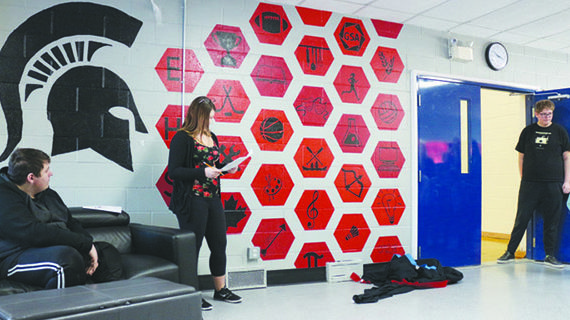 Eaton students revitalize spaces with mural project