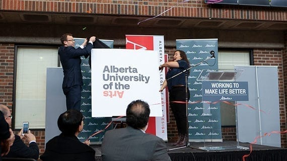 Alberta College of Art + Design becoming a university
