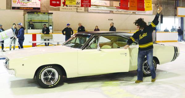 Prince Albert man wins classic car raffle