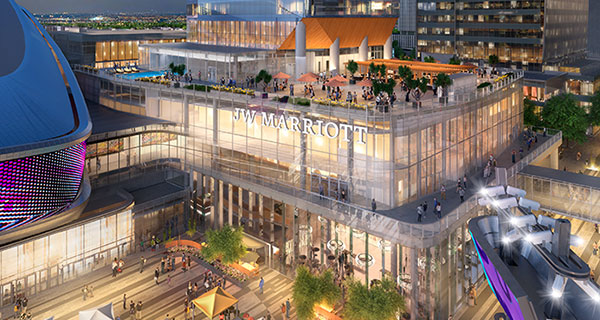 Marriott opens Edmonton luxury hotel complex beside Rogers Place