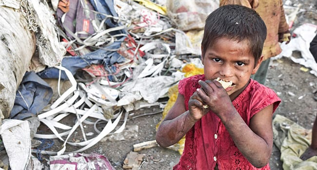 Humanity faces a huge and growing crisis