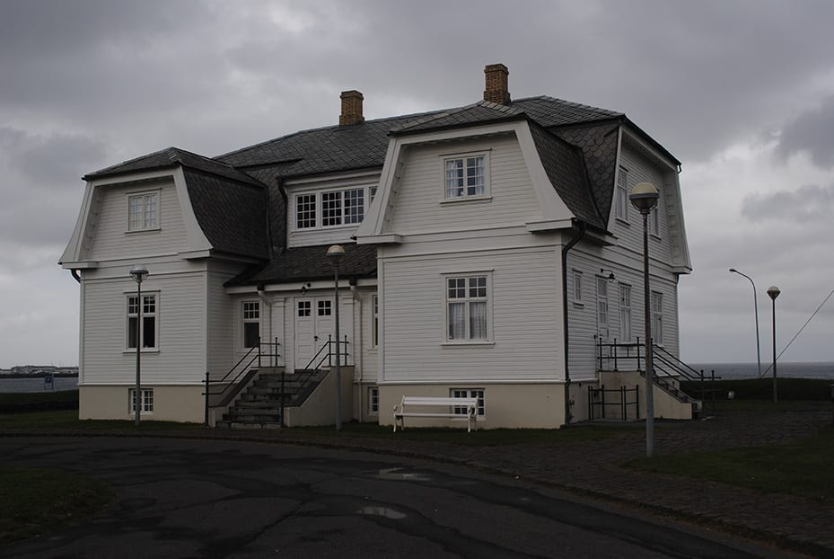 Hofdi House, former French consulate, Reykjavik waterfront, 1909