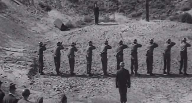 The unlucky end of an American war deserter