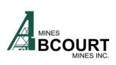 Collective Agreement Approved by 80% of Unionized Miners at the Sleeping Giant Division of Abcourt
