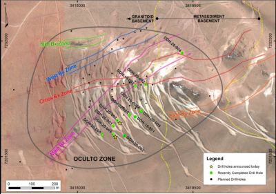 AbraPlata Intersects Further High-Grade Silver, Gold and Copper Mineralisation Including 408 g/t AgEq Over 28 m and 23.8 g/t AuEq Over 2 m at Diablillos Project