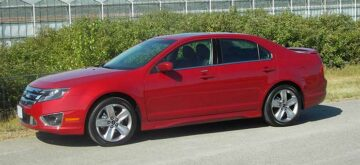 2011 Ford Fusion a well-appointed, moderately upscale sedan