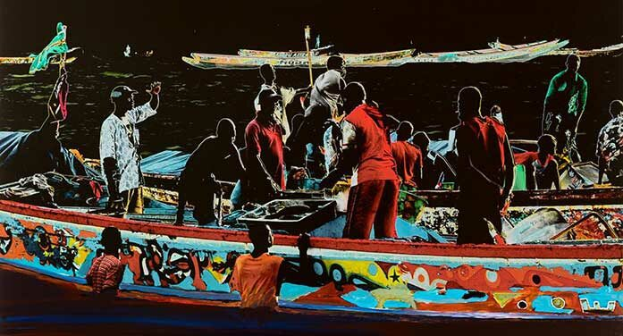Gilbert Desjardins art - Série Migrations sans frontières